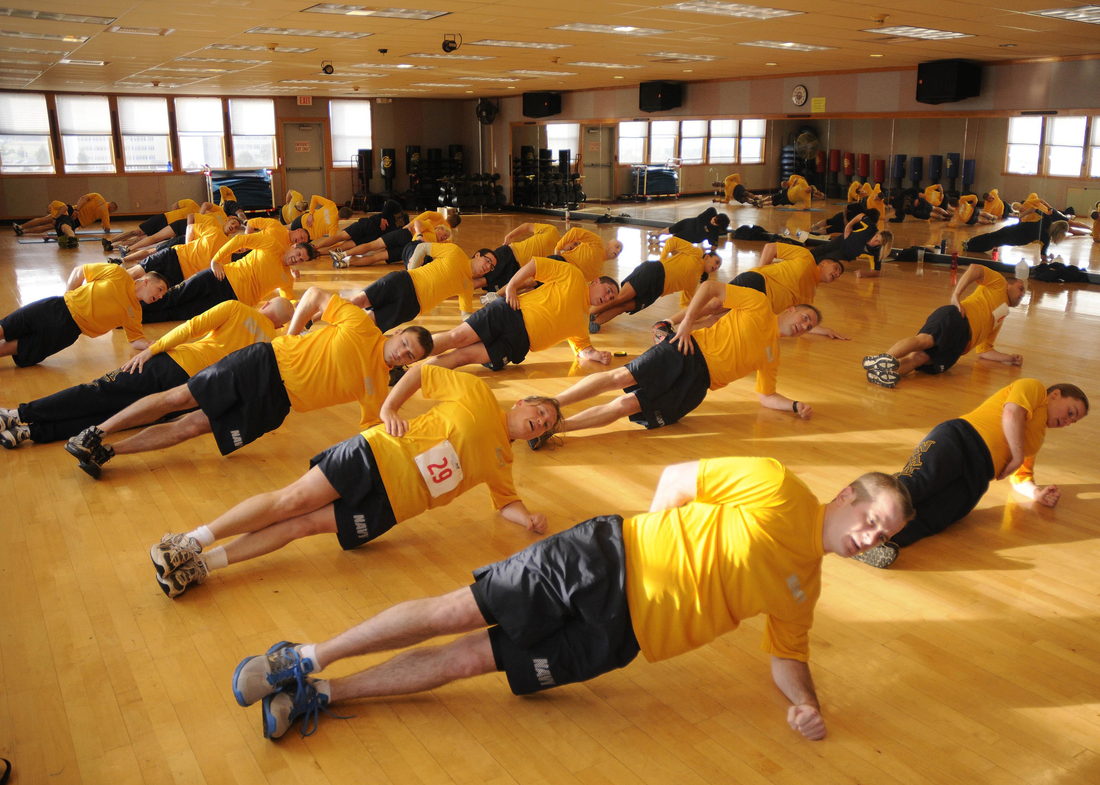 CFL course, NASWI, Fitness