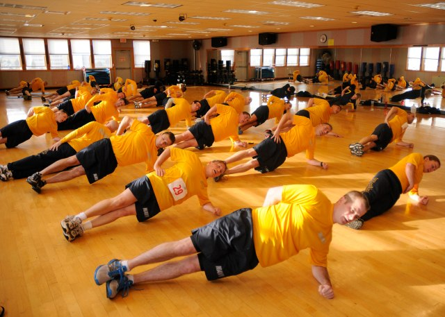 CFL course, NASWI, Fitness